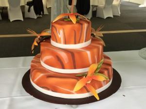 Hochzeitstorte afrikanisch